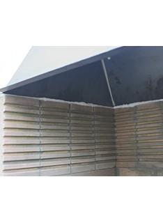 Cihla na stavbu grilů 255 x 125 x 65 mm