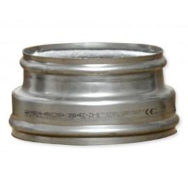 Napojovací díl 200/200 mm - vnější Ø 240