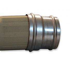 Napojovací díl 140/140 mm - vnější Ø 157