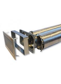 Zděř mřížková Ø 125 mm, 170 x 300 mm