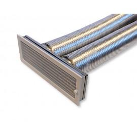 Zděř mřížková Ø 125 mm, 170 x 490 mm