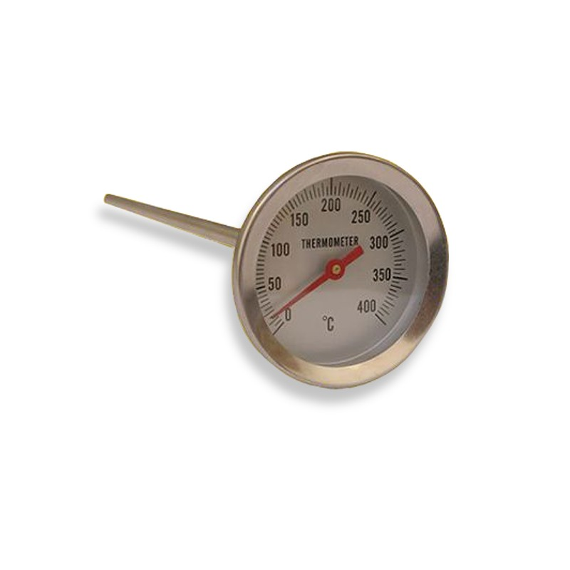 Teploměr do udírny, délka: 200 mm - udírenský teploměr
