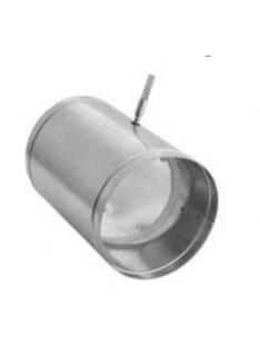 Kanál pro přívod spalovacího vzduchu - klapka  Ø 125 mm