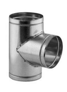 Kanál pro přívod spalovacího vzduchu -T-kus  Ø 150 mm