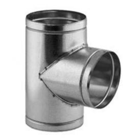 Kanál pro přívod spalovacího vzduchu -T-kus  Ø 125 mm