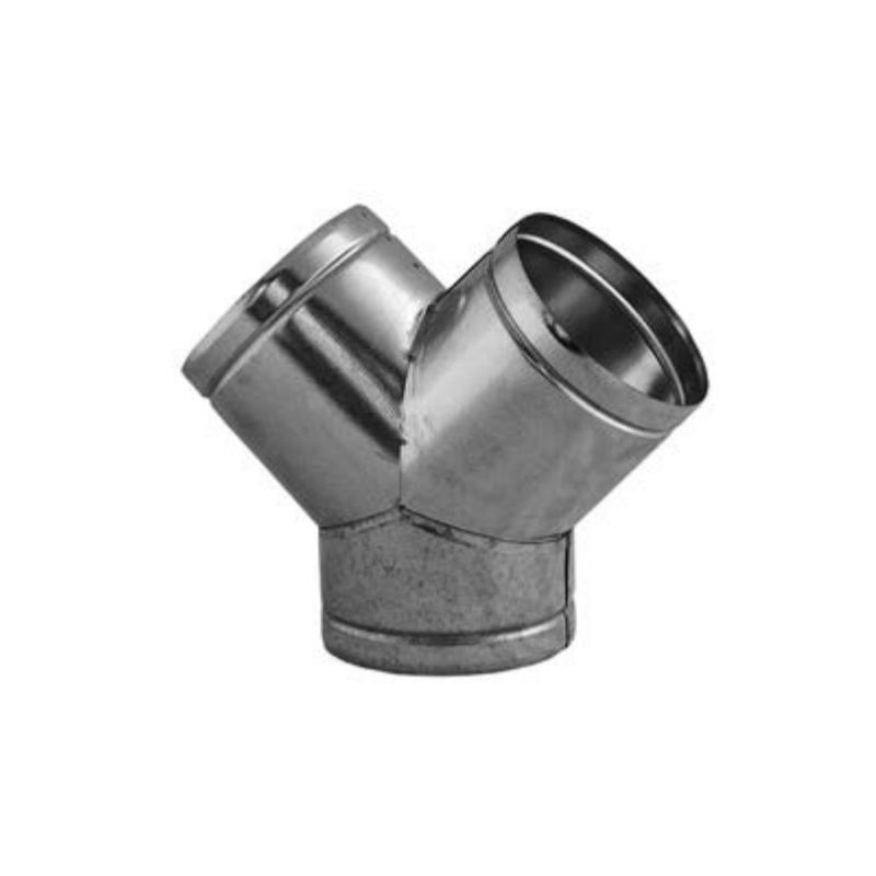 Kanál pro přívod spalovacího vzduchu -Y-kus  Ø 125 mm