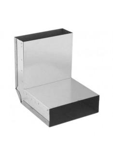 Kanál pro přívod spalovacího vzduchu - koleno 90° strop