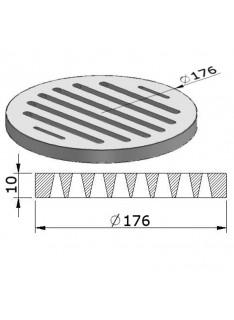 Litinový rošt kulatý 180 mm
