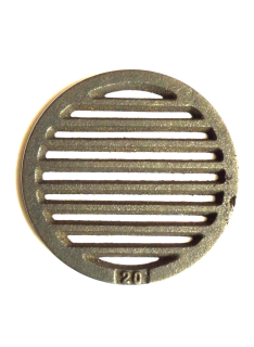 Litinový rošt kulatý ⌀ 200 mm