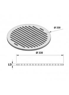 Litinový rošt kulatý 330 mm