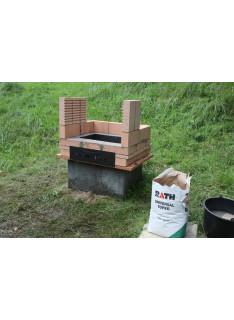 Žárová malta na venkovní krby-RATH 25 Kg