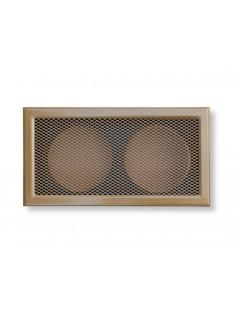 Mřížka písková  365 x 195/ 2x vývod 125mm