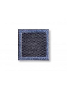 Mřížka stříbrná antika 195 x 195 mm