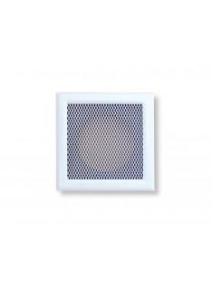 Mřížka bílá 195 x 195/1x vývod 125 mm