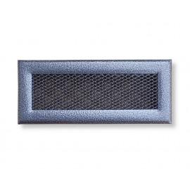 Mřížka stříbrná antika 240 x 100 mm