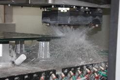 výroba skla pod kamna